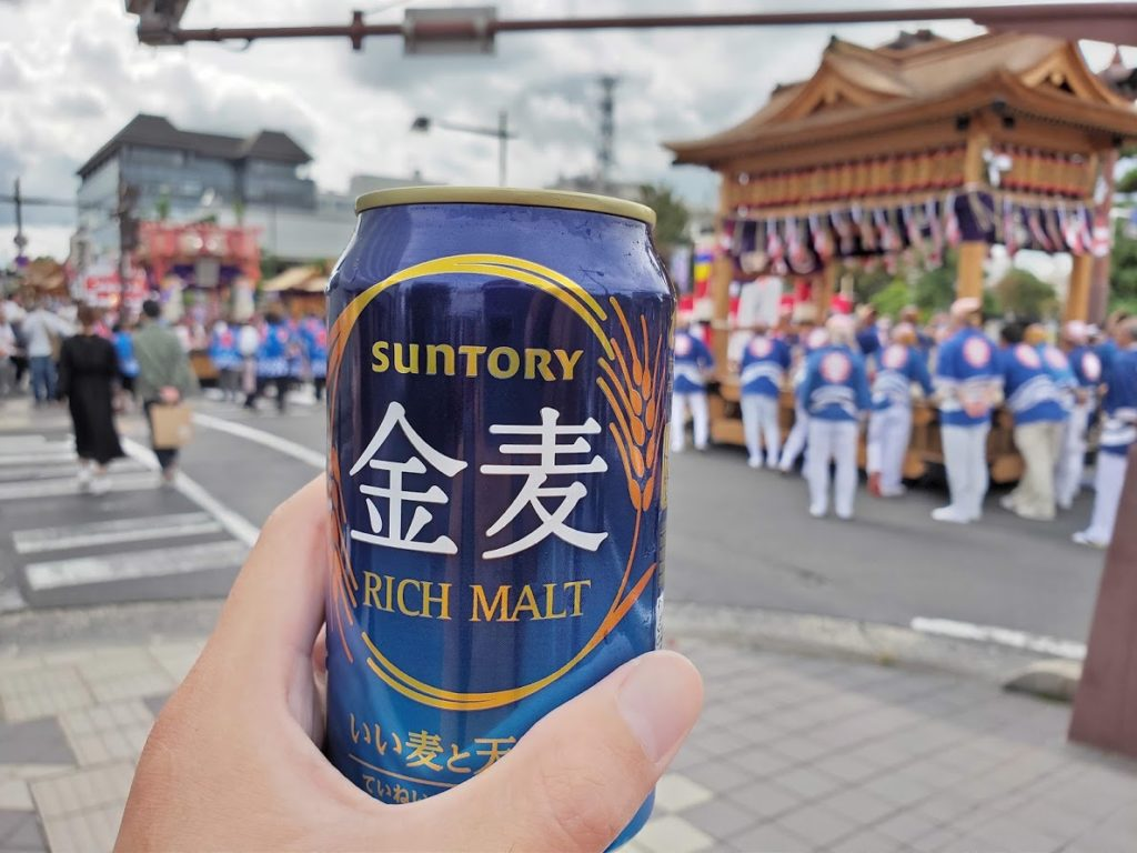 松江城のイベントとビール