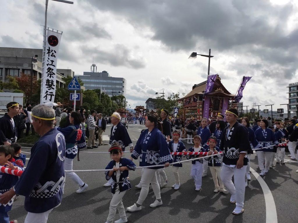 松江城のイベント祭り