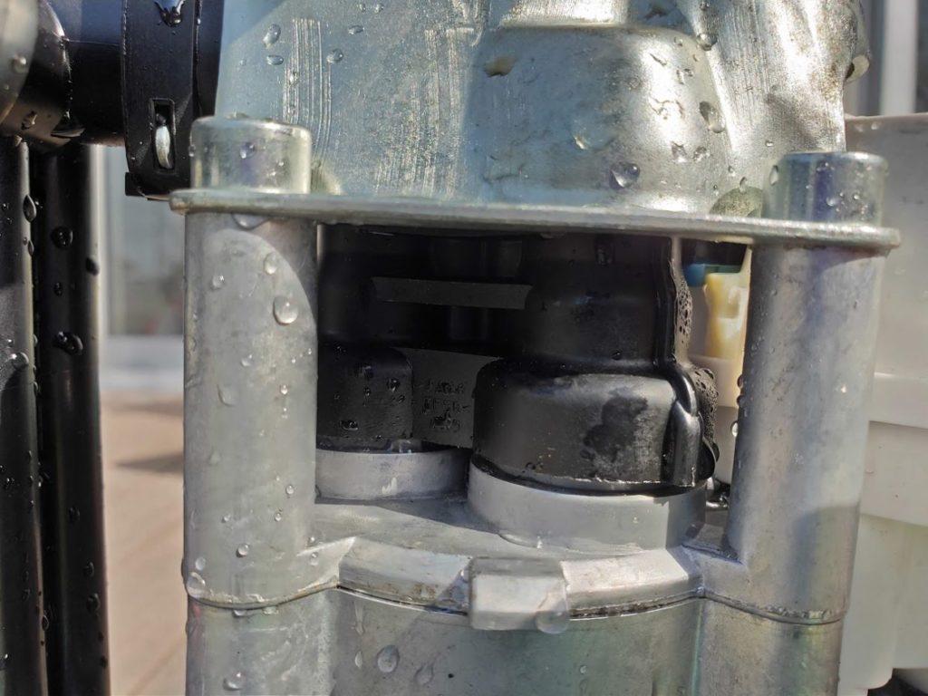 ケルヒャーK.2900サイレントの水漏れ