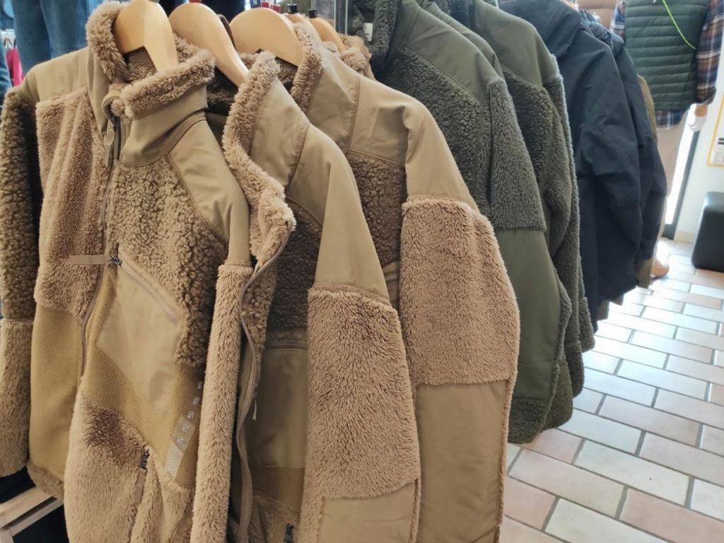 エンジニアドガーメンツフリースジャケットの店舗商品