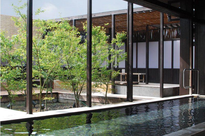 仏生山温泉の温泉内