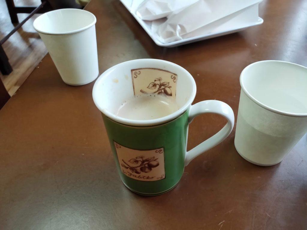パン工房HOMEのコーヒー