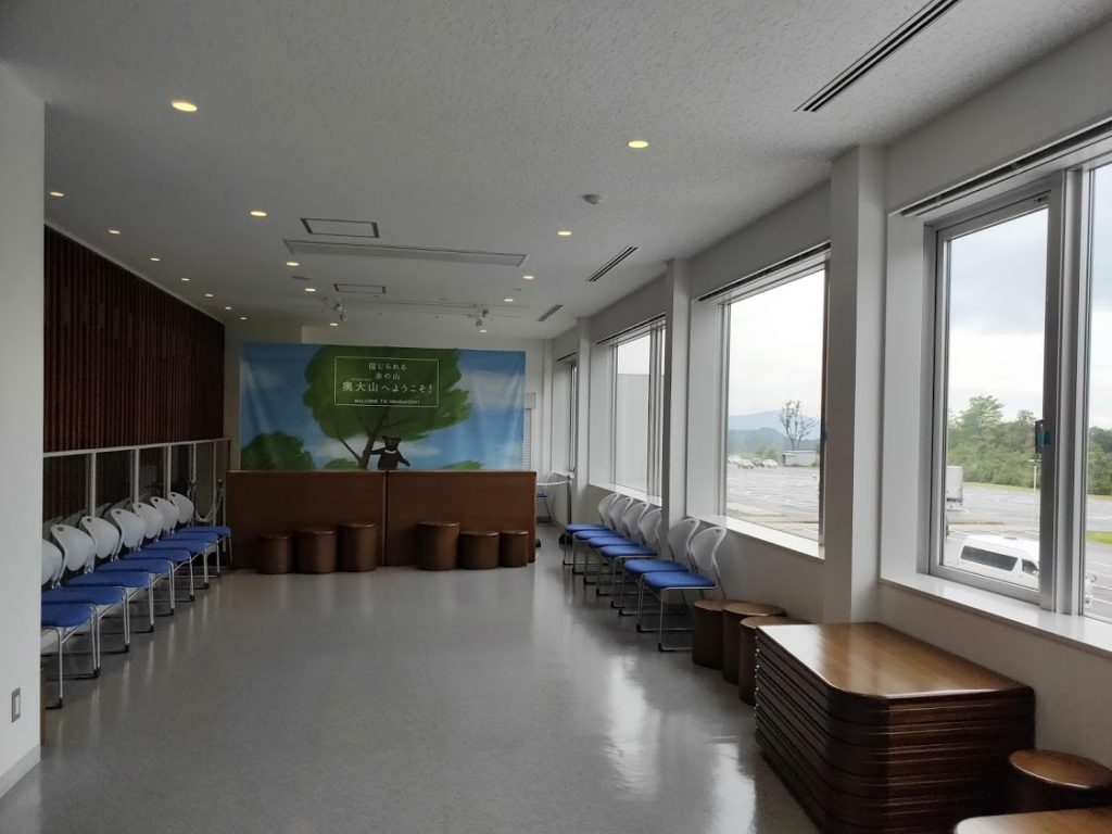 サントリー工場見学の二階