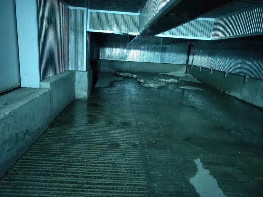 サントリー工場見学のクールルーム