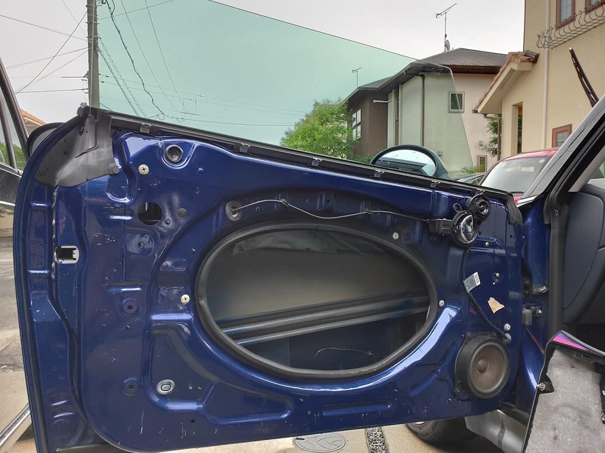 BMWMINIの窓を下げる