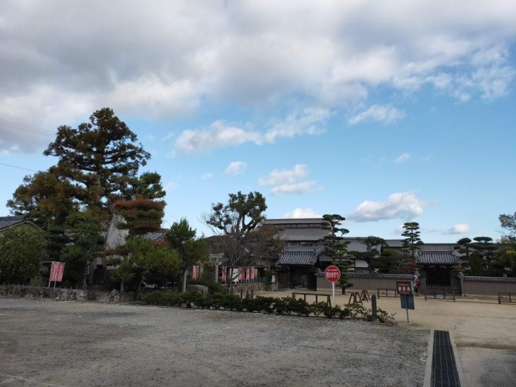 87番長尾寺の遠くからの景色