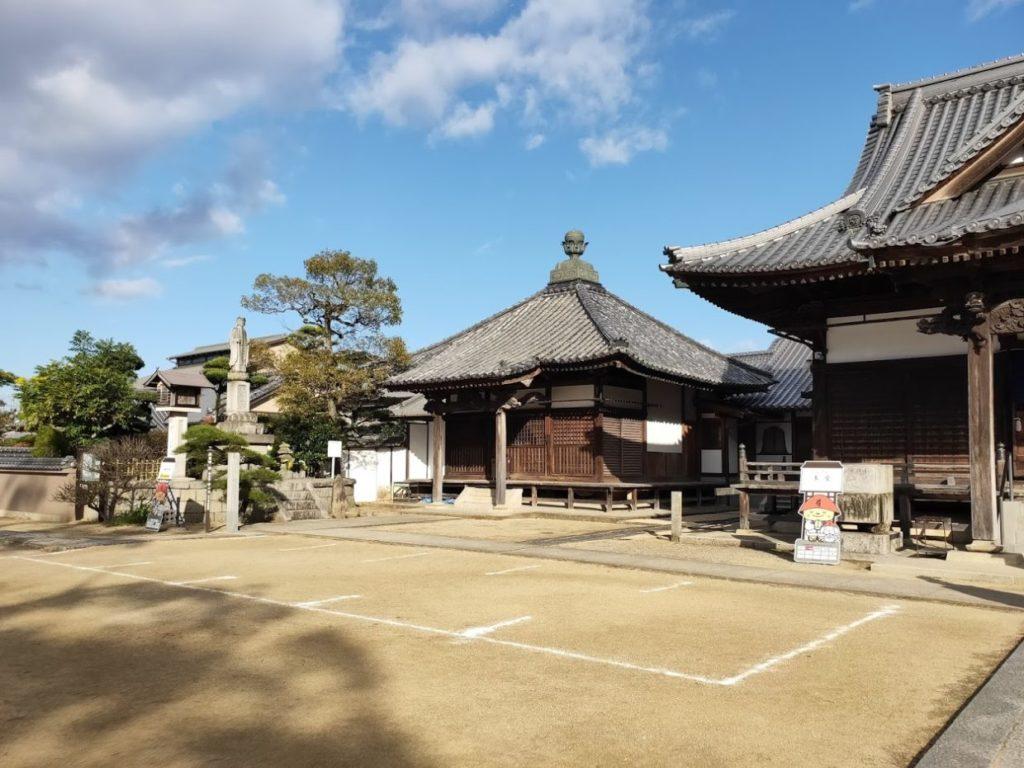 87番長尾寺の本堂