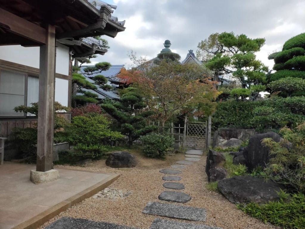 87番長尾寺の庭