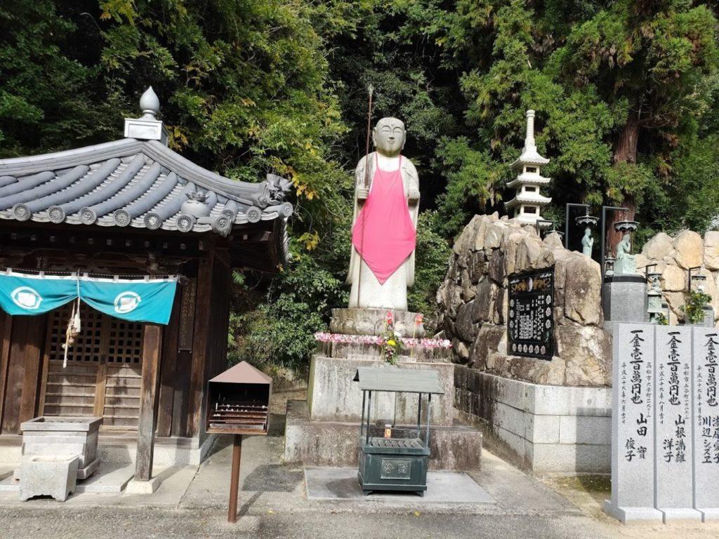 86番八栗寺の地蔵堂