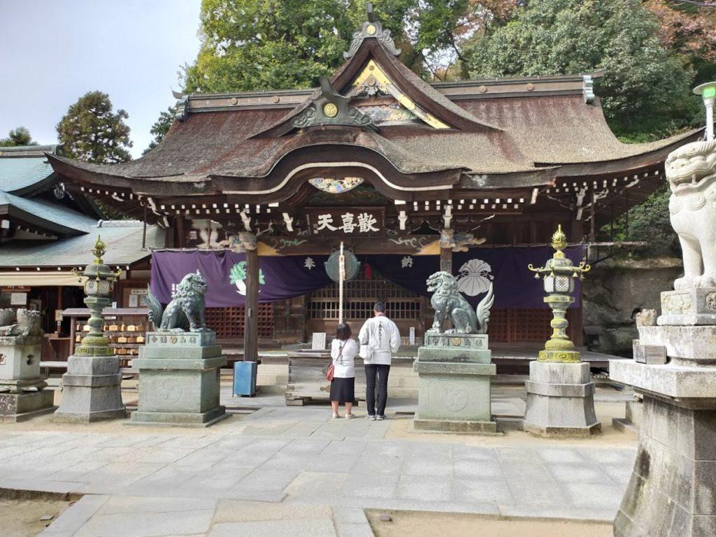 86番八栗寺の歓喜天