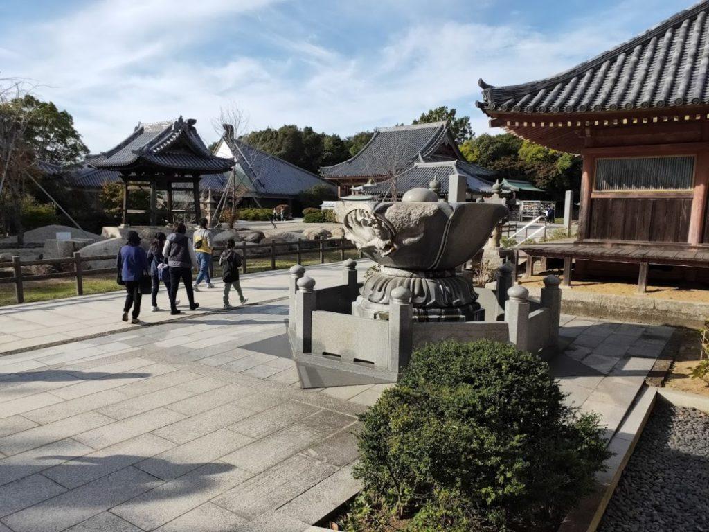 84番屋島寺のお寺入り口