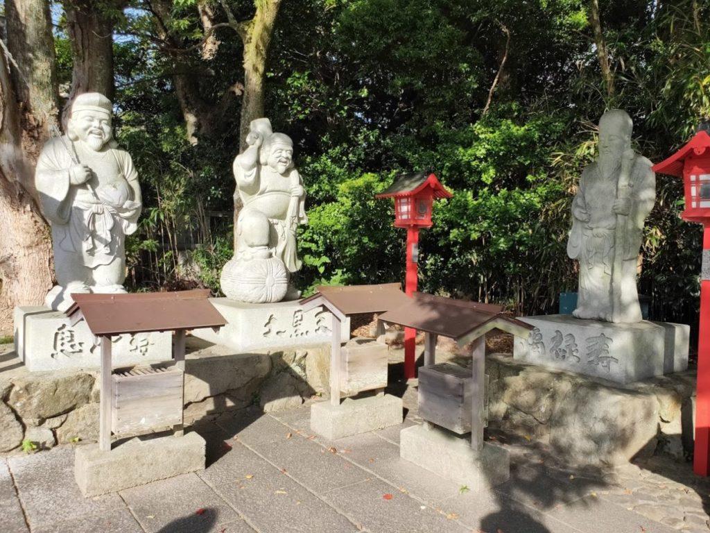 84番屋島寺の七福神