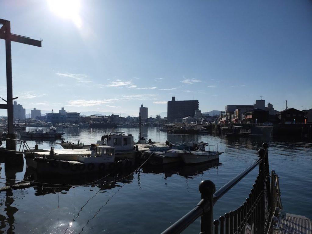 愛媛県三津の渡しの景色4