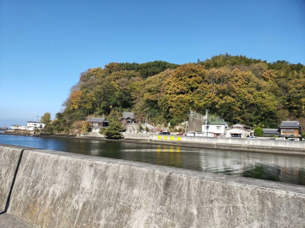 愛媛県三津の渡しの対岸の景色1