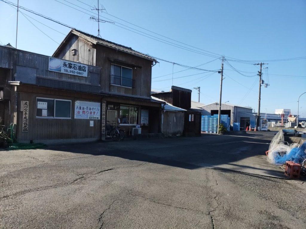 愛媛県三津の渡しの対岸の景色2