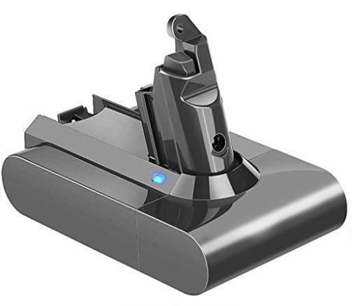 ダイソン掃除機のバッテリーHP画像1