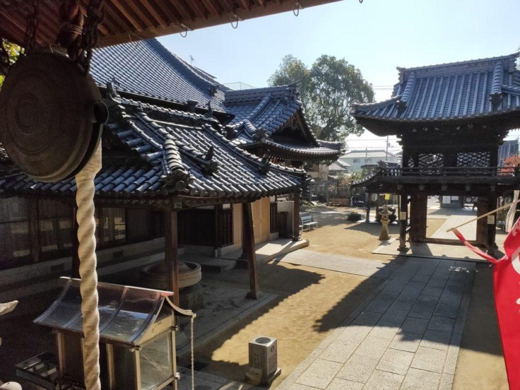 53番円明寺のお寺の景色