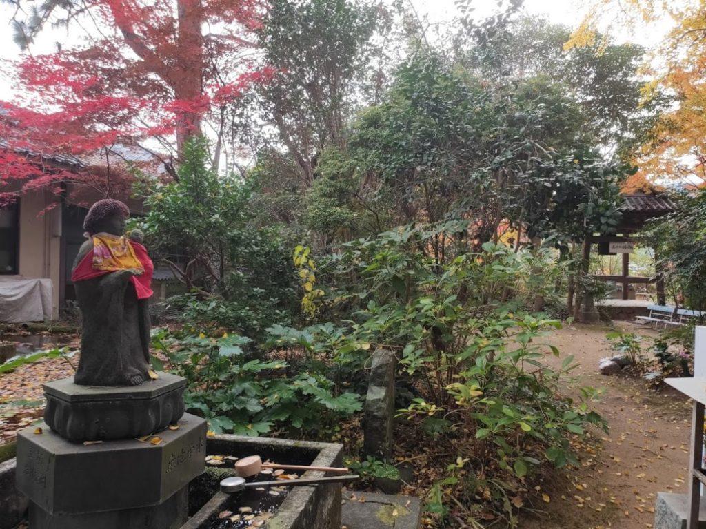 46番浄瑠璃寺のお地蔵