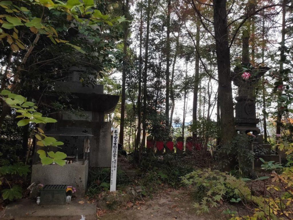 46番浄瑠璃寺のお地蔵と庭
