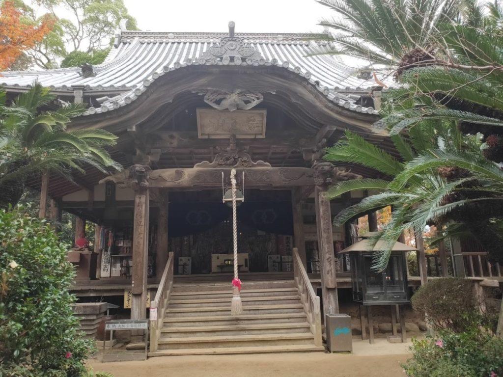 46番浄瑠璃寺の本堂外観