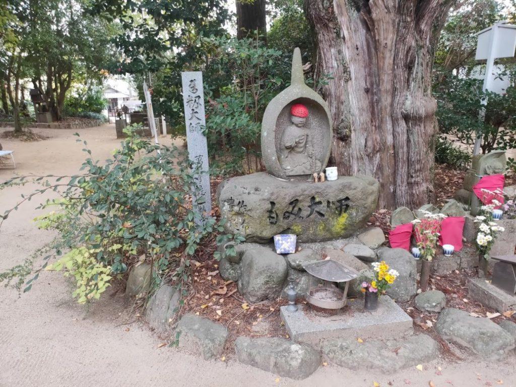 46番浄瑠璃寺のもみ大師
