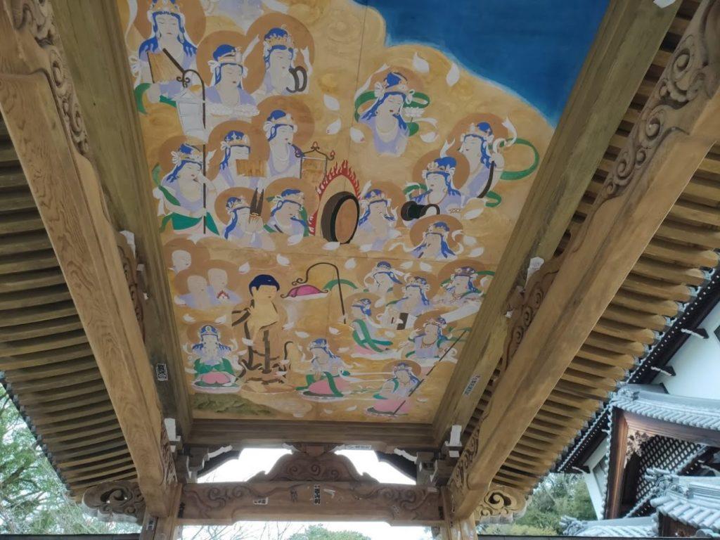 47番八坂寺の門の絵