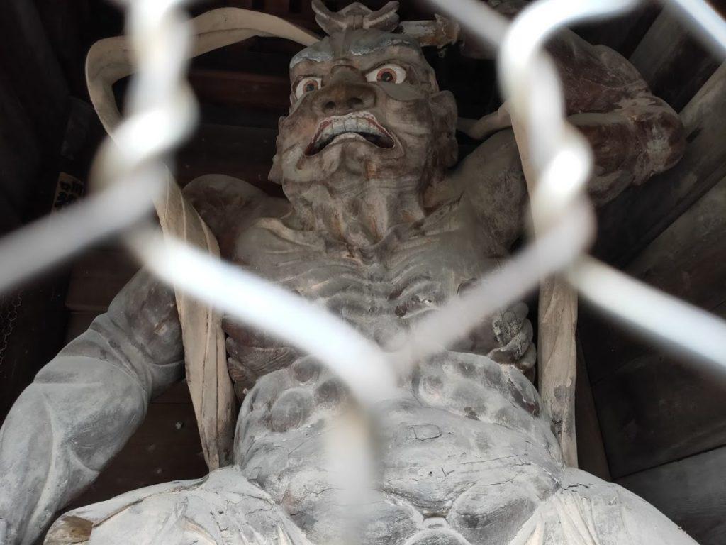 48番西林寺の仁王