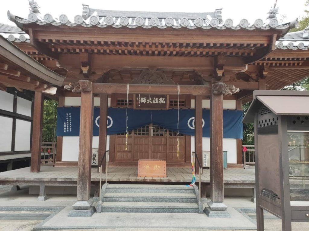 48番西林寺の大師堂