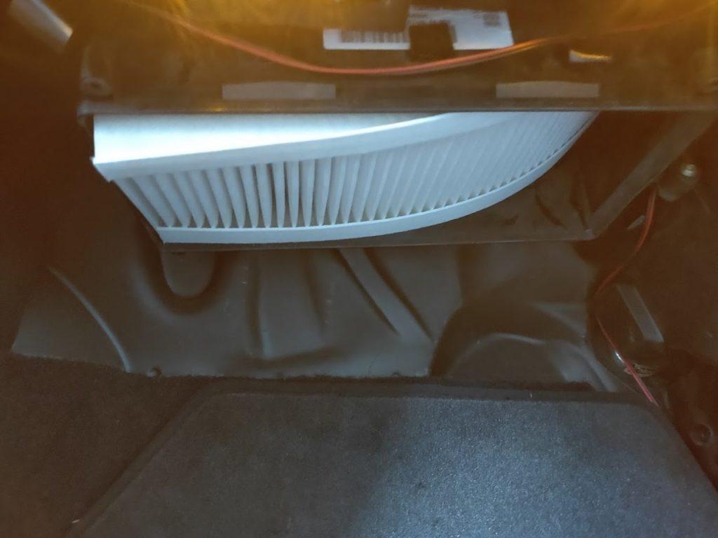 BMWMINIR53のエアコンフィルターの新しいもの