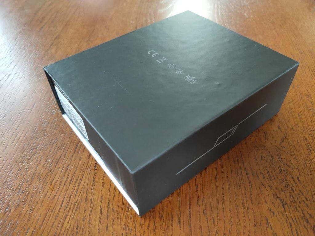 JPRideのワイヤレスイヤホンの箱の裏