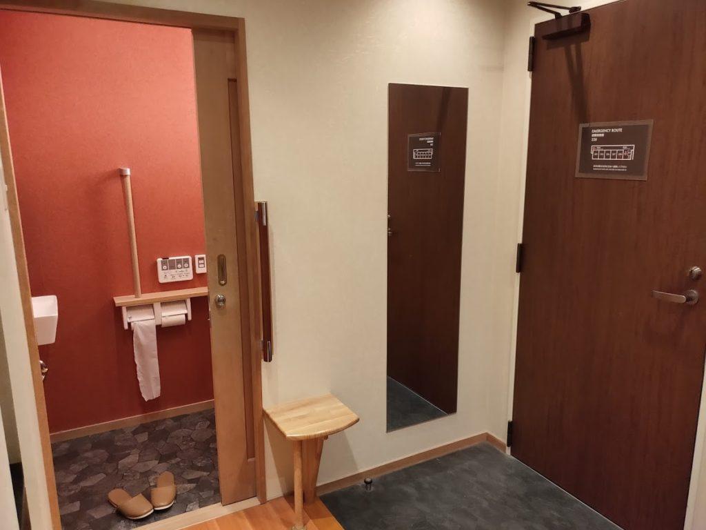ユウベルホテル松政のトイレ