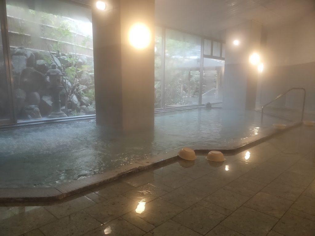 ユウベルホテル松政の内湯1