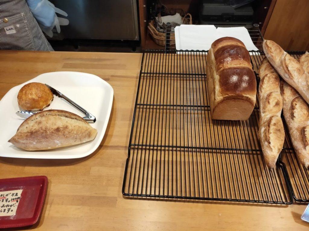 パン屋ブレリックの注文したパン