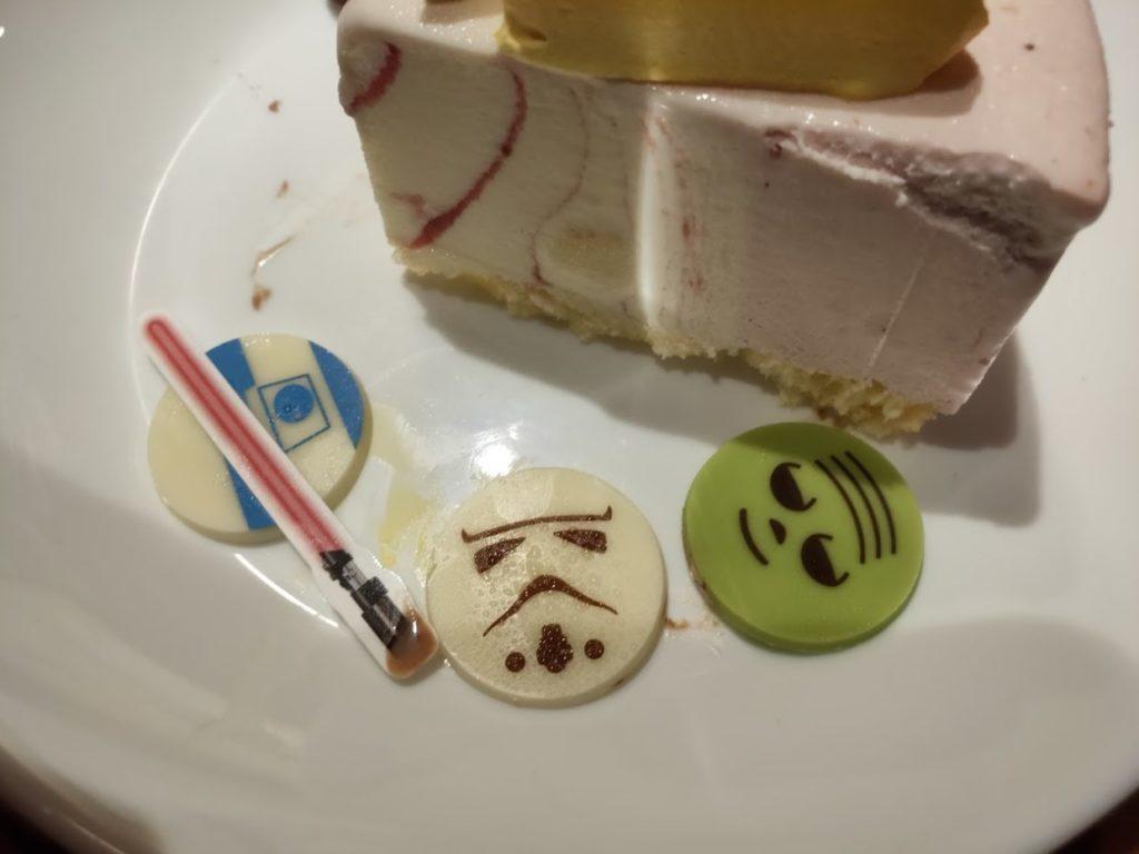 サーティーワンスターウォーズケーキの3キャラクター
