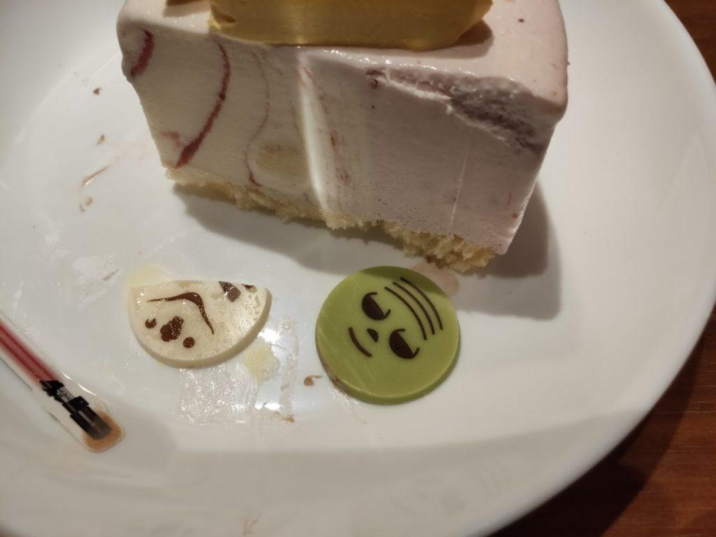 サーティーワンスターウォーズケーキのストームトルーパーカット