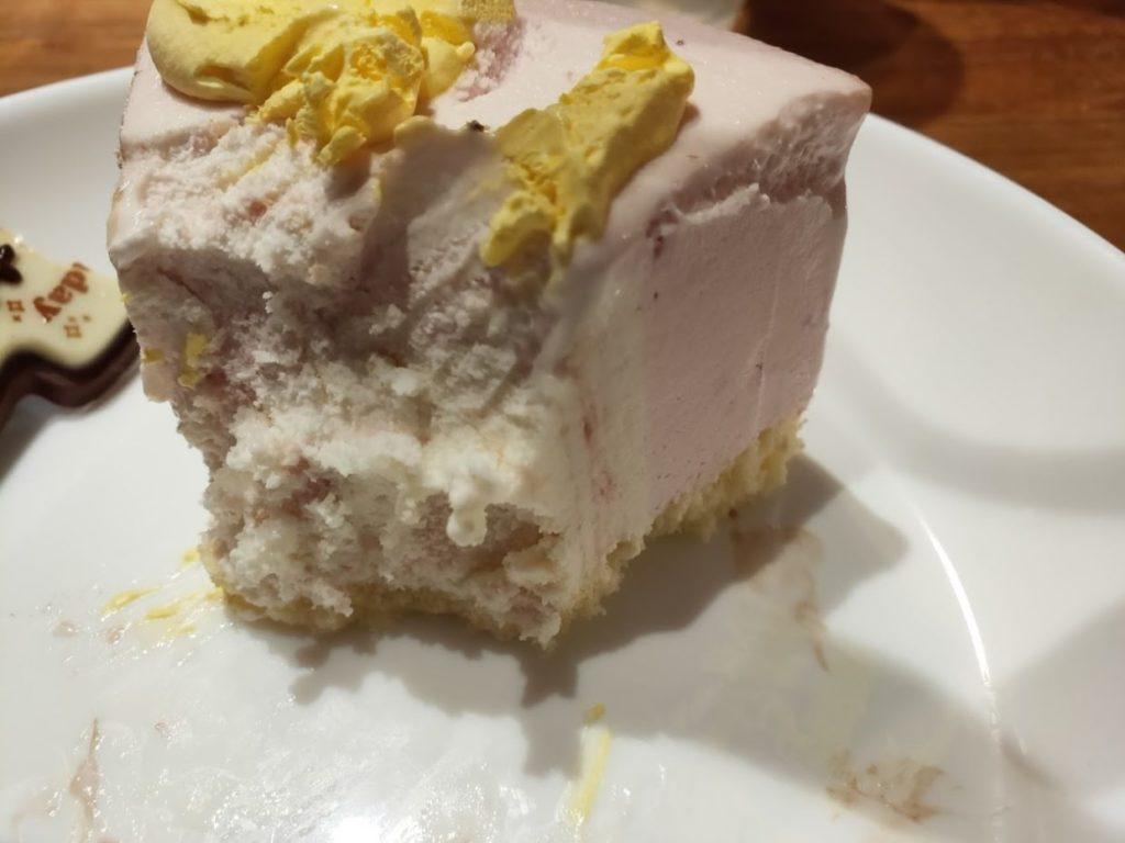サーティーワンスターウォーズケーキのアイスケーキを味わう