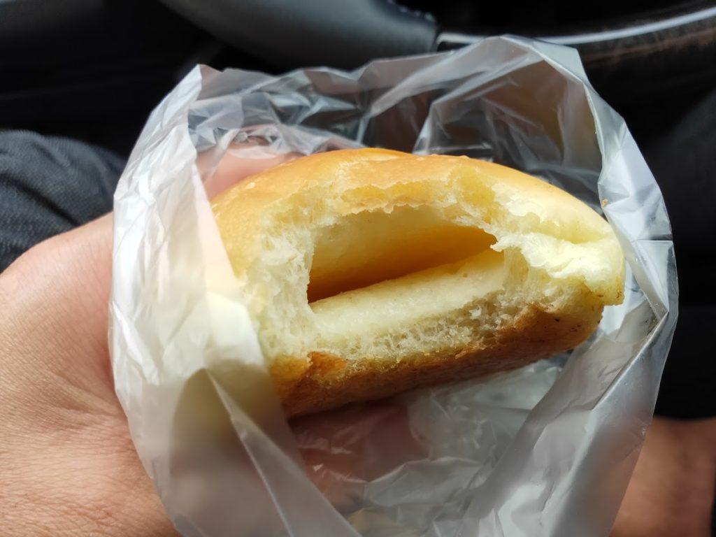 ブーランジェリーユイットの塩パン2