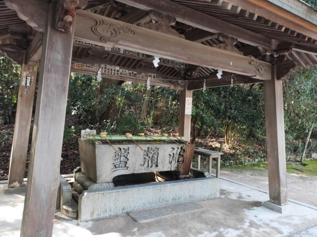 大山祇神社の手水場