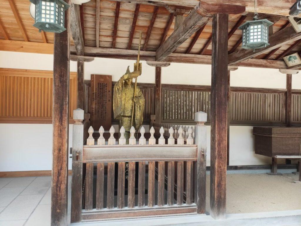 大山祇神社の隼人の舞