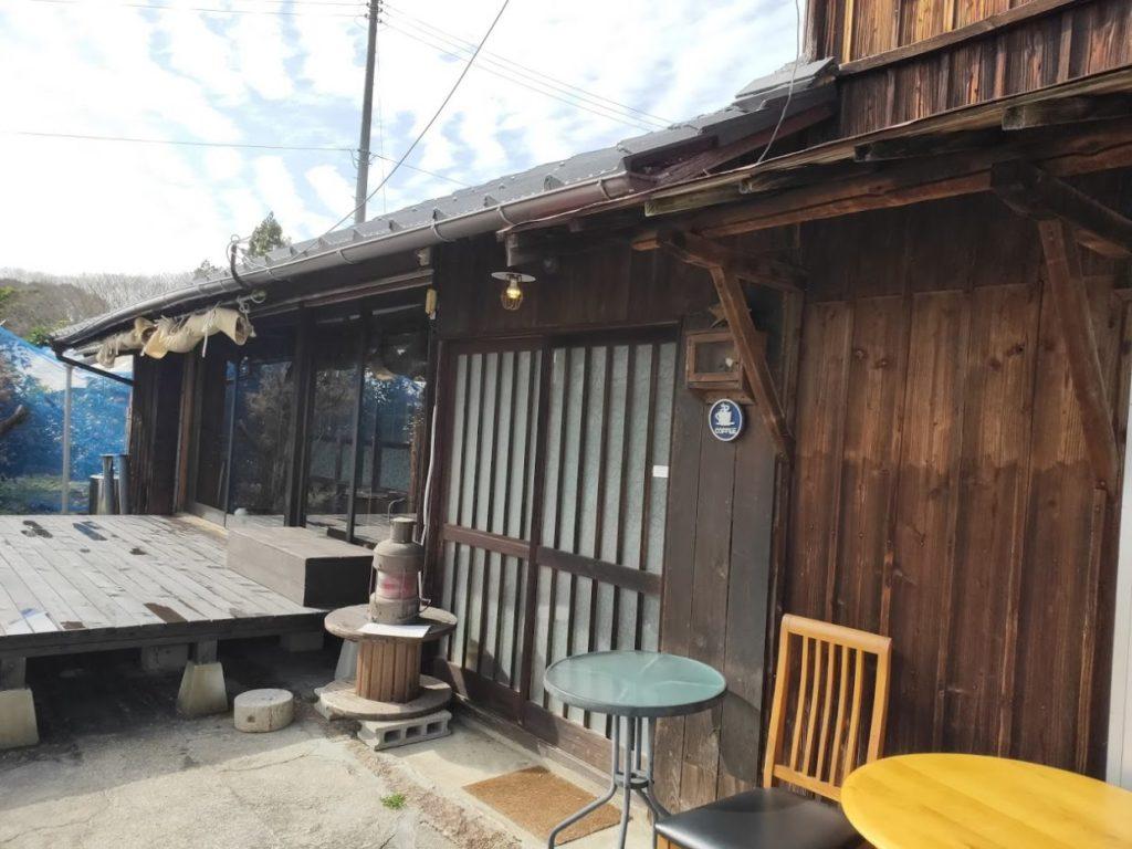 オミシマコーヒー焙煎所の外観1