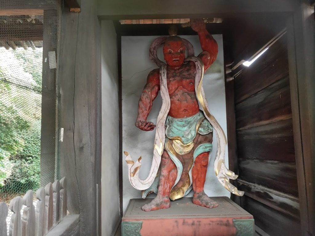 54番延命寺の仁王