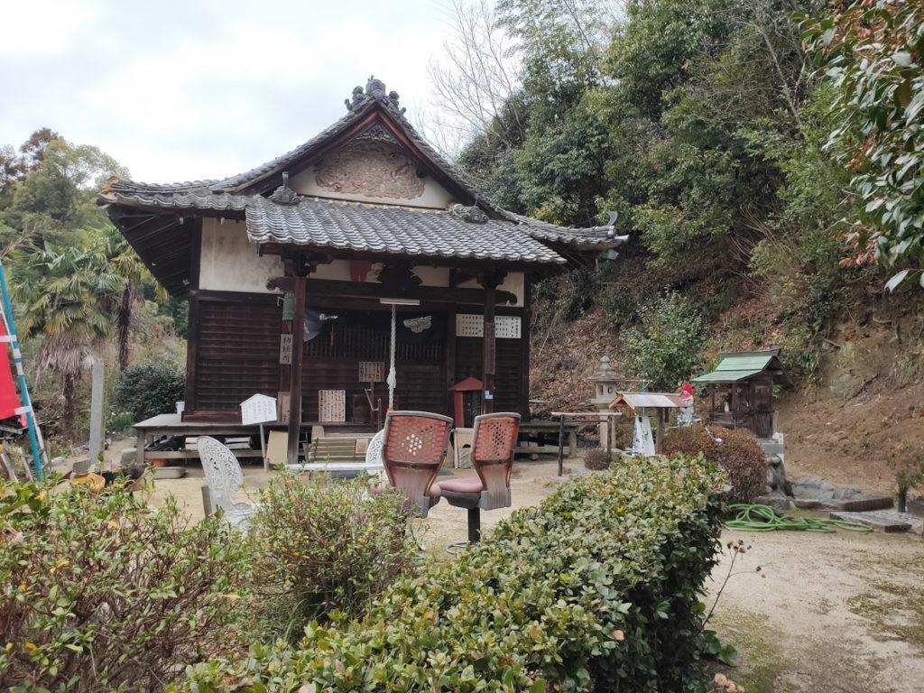 56番泰山寺の奥の院龍泉寺