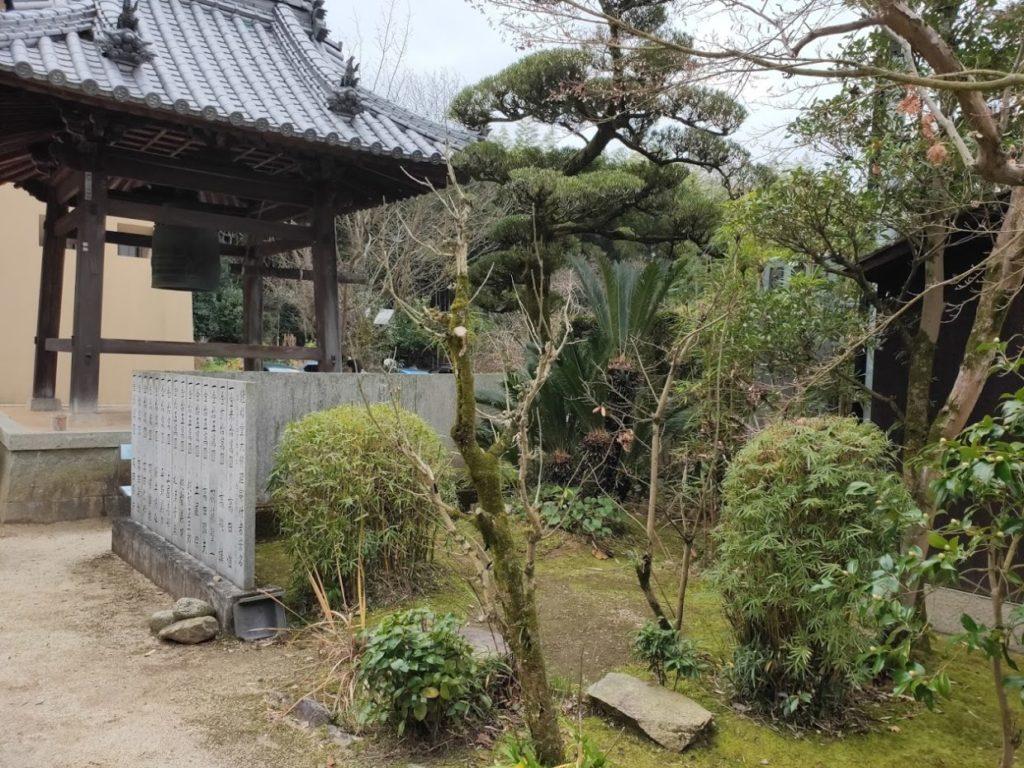57番栄福寺の境内の庭