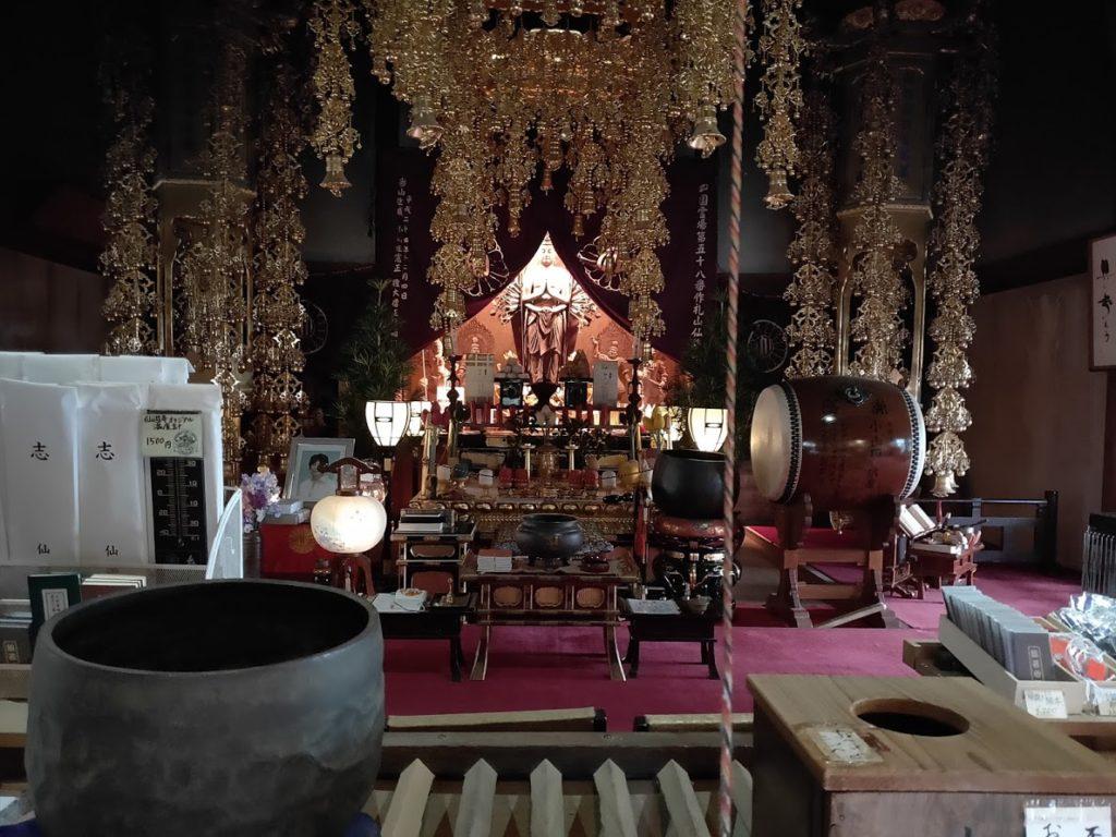 58番仙遊寺の本尊
