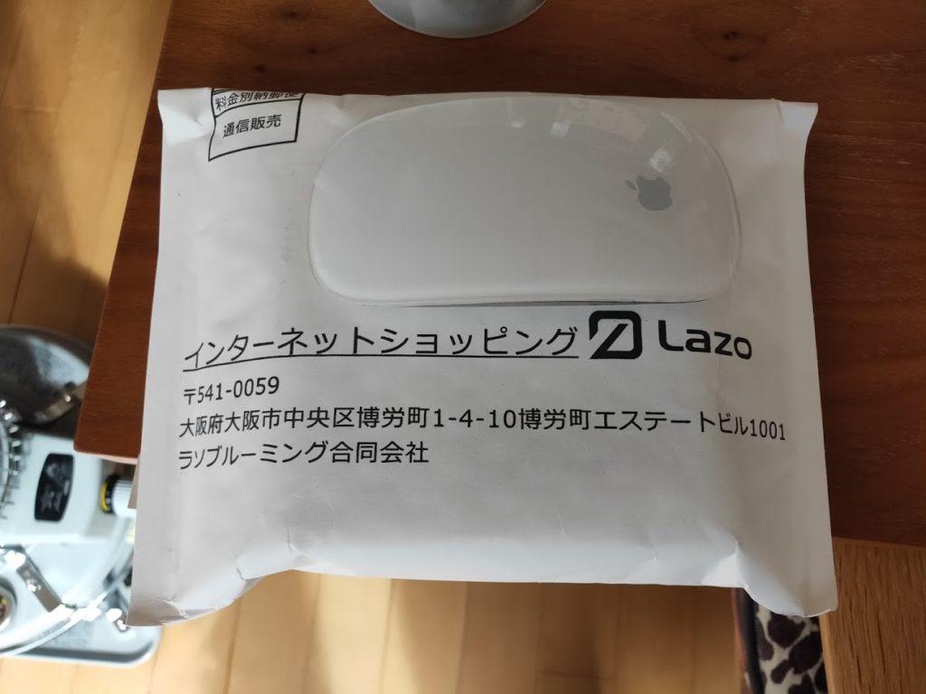 Lazoのワイヤレスイヤホンが届いた