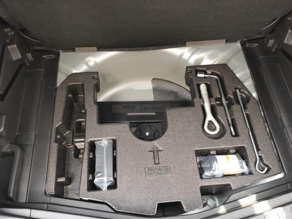 日産ノート車体工具