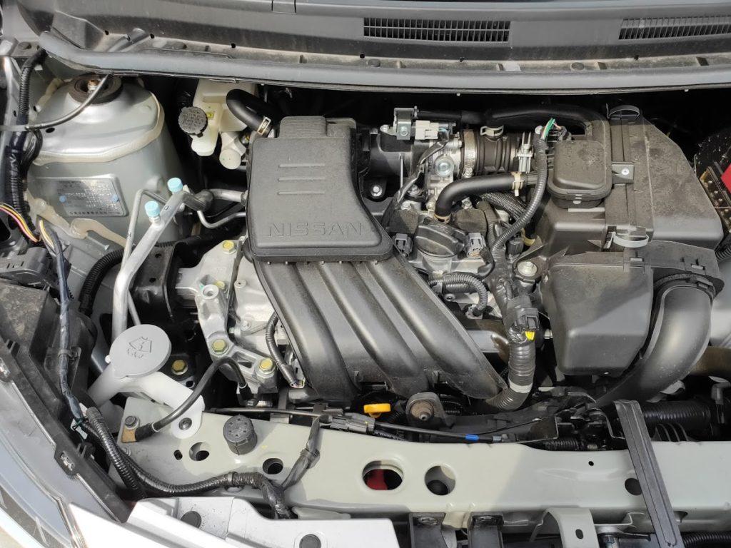 日産ノートエンジン1