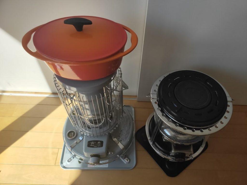 フジカハイペットとアラジンの調理比較1