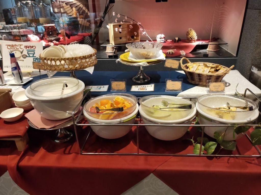 ヴィラ塩江の朝食1