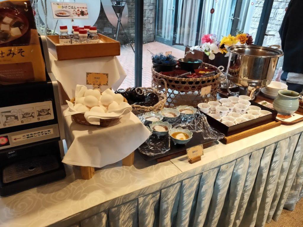 ヴィラ塩江の朝食6